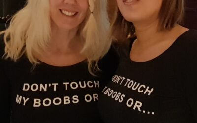 Don't touch my boobs Or I will kick your balls